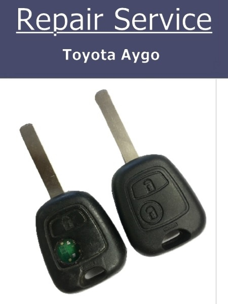Toyota Aygo key repair | Toyota key fix | Broken Toyota key