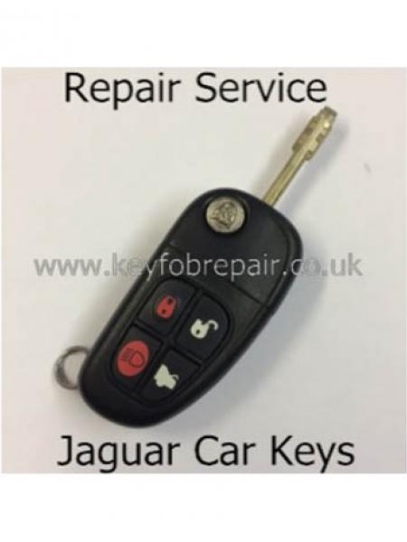 Jaguar Remote Keyfob Repair Service X-S Type Etc