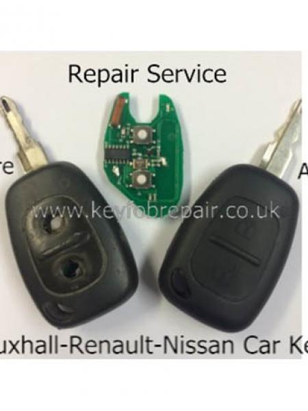 Nissan Primstar - Kubistar Etc Remote Key fob Repair Service