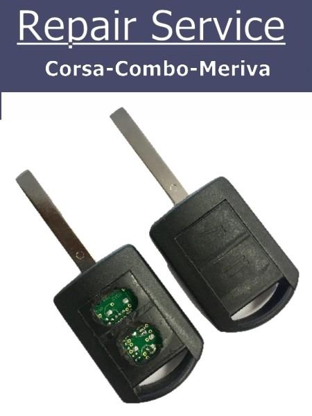 Vauxhall Key Repair Corsa Key Repair Broken Corsa Key Fix