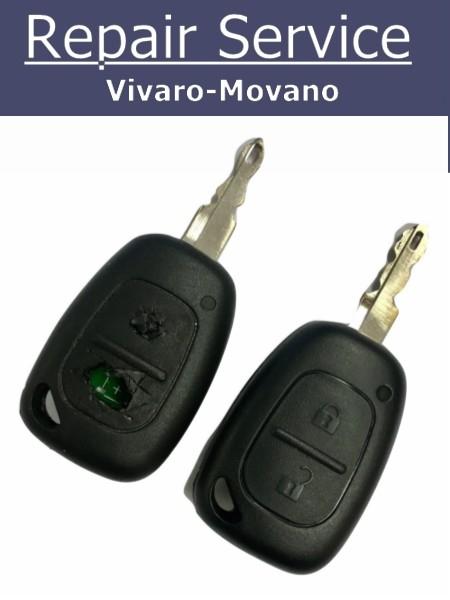 vivaro key repair vivaro key fix broken vivaro key movano key repair movano key fix