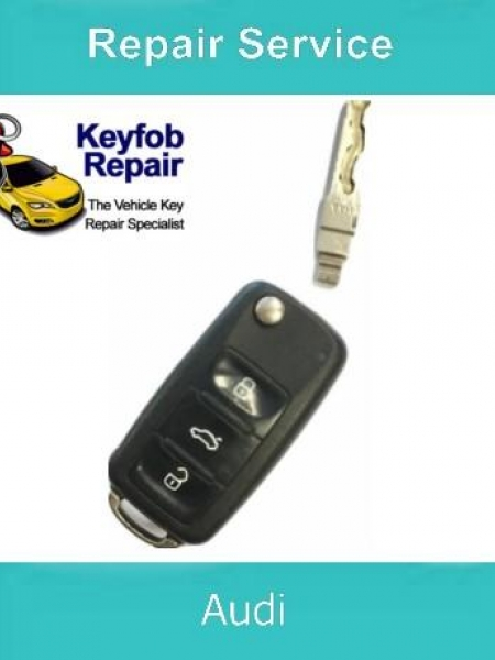 Key Repair Service - Audi Broken Key CAM
