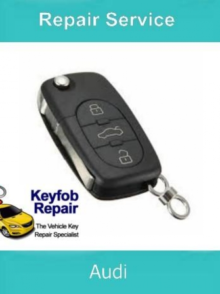Key Repair Service – Audi 3 Button Fix