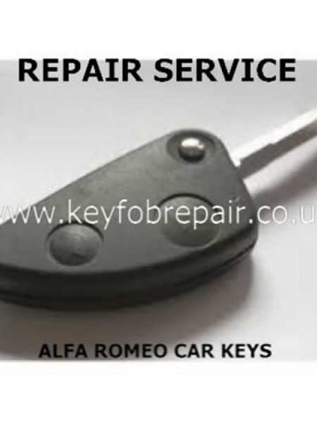 Alfa Romeo 2 And 3 Button 146-156-166 Etc Car Key Repairs