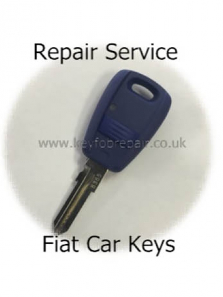 Fiat Car Key Fob Repair Service For Punto Multipla Panda Etc