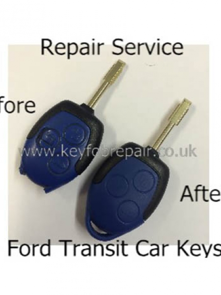Ford Blue Transit-Transit Connect Keyfob Repair Service