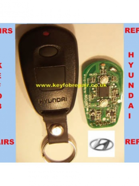 Hyundai car key fob repair