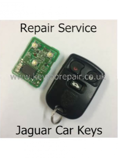 Jaguar 'Square' Remote Keyfob Repair Service X-S Type Etc