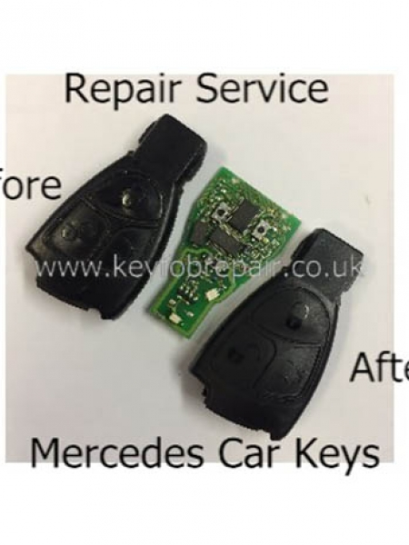 Mercedes Keyfob Repair Service 2 And 3 Button Type- Vito- C-Class Etc