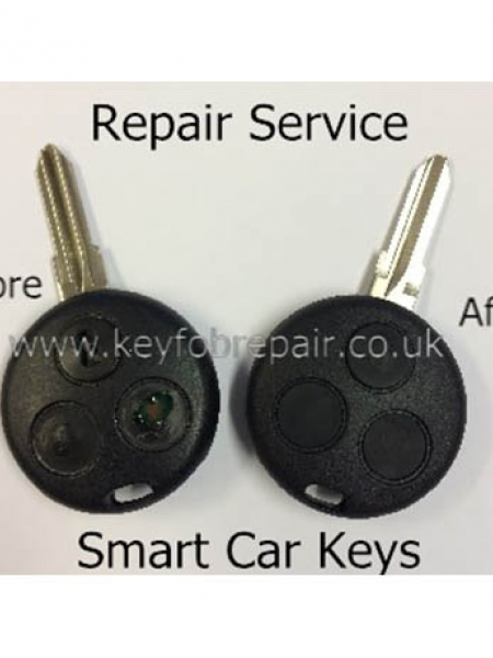Smart 3 Button Key Fob Remote Repair