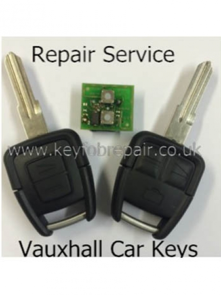 Vauxhall 2 & 3 Button Keyfob Repair Service Astra Vectra Zafira Omega Etc