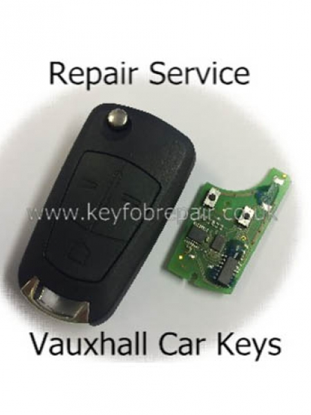 Vauxhall Flip Key Fob Repair Including New Case-Astra Zafira Vectra Etc