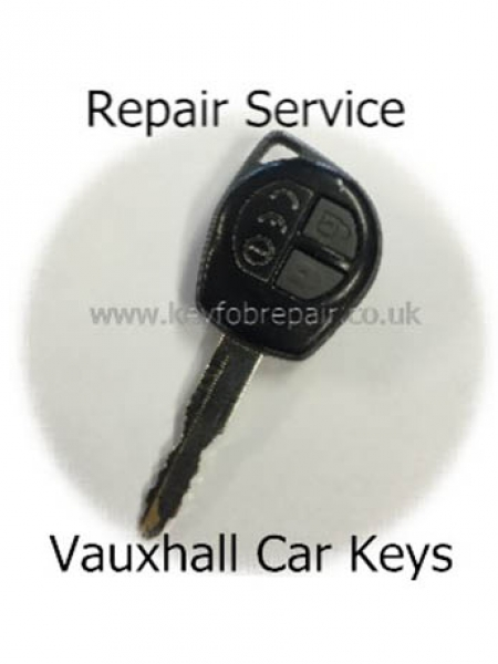 Vauxhall Agila 2 Button Key fob Repair Service