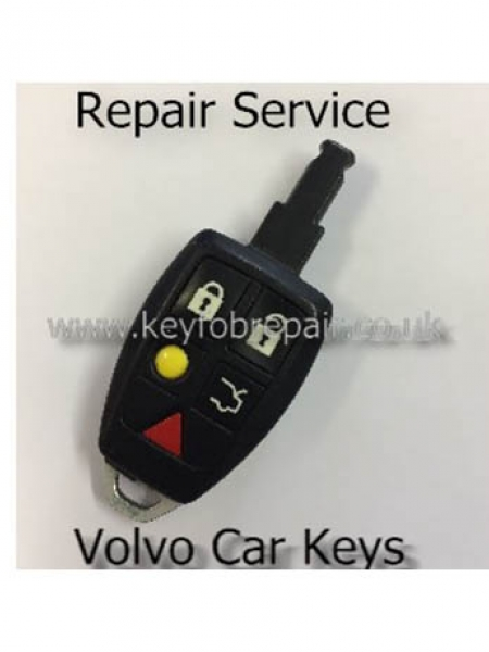 Volvo 5 Button Remote Key fob Repair for S40 V40 S70 C70 V70 Etc