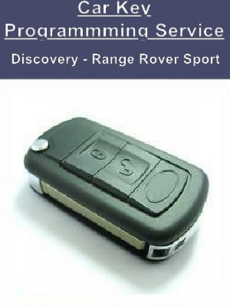 Key Programming Service - Land Rover Discovery Range Rover Sport Car Keys