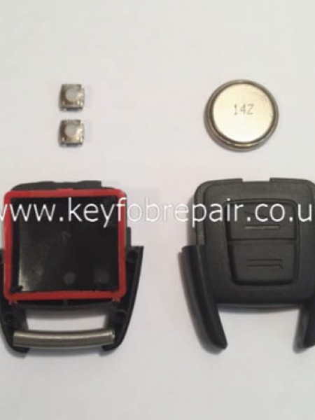 Vauxhall Astra Vectra Zafira Etc 2 Button DIY Repair Or Refurbish Kit