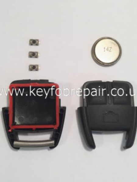 Vauxhall Astra Vectra Zafira Etc 3 Button DIY Repair Or Refurbish Kit