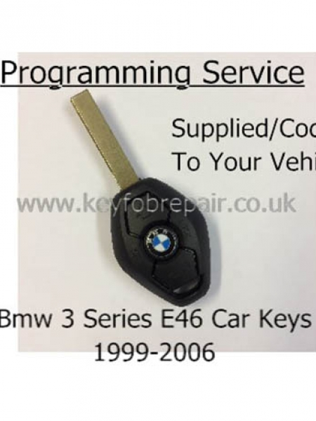 Bmw Remote Key Programming Service- 3 Series E46 1999-2006