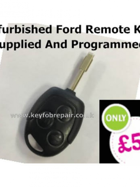 Refurbished Ford Remote Key Programmed To Your Car