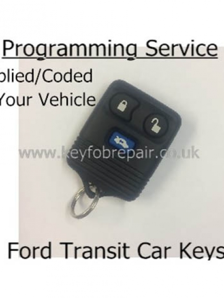 Ford Transit 3 Button Remote Supplied And Programmed