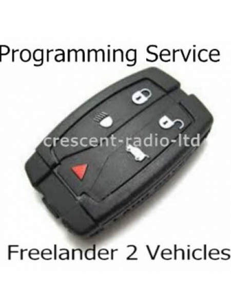 Freelander Dash Remote with Blade Programming Service