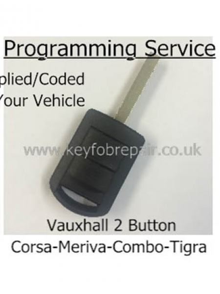 Vauxhall Corsa Combo Movano Remote Key Supplied And Programmed