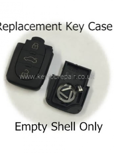 Audi 3 Button Key Case Shell