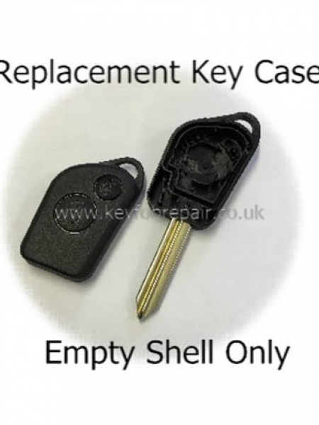Citroen Saxo Xsara Picasso Berlingo Replacement Key Fob Case With Blank Key Blade