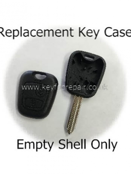 Citroen SX9 Keyblade 2 Button Key Case
