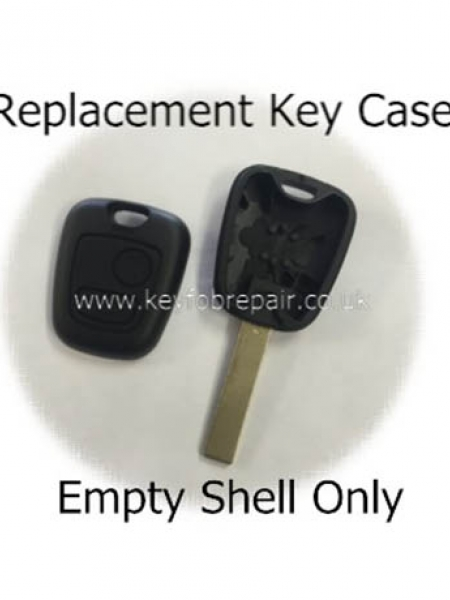 Citroen VA2 Keyblade 2 Button Key Case