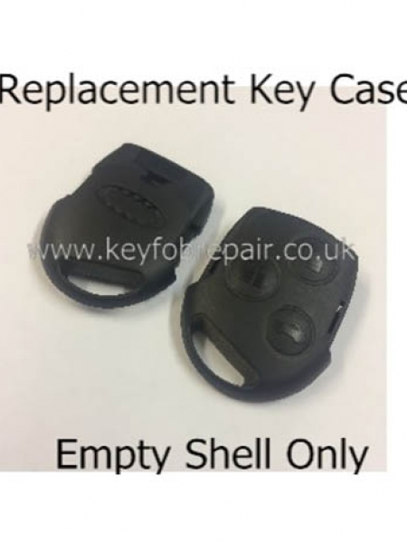 3 Button Key Fob Case Shell for Ford Mondeo Focus Fiesta Etc
