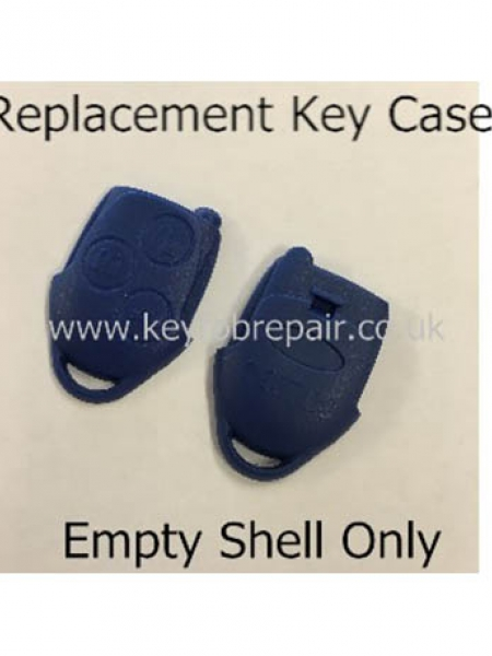 Ford Transit Connect Blue Type Empty Key Fob Case Shell