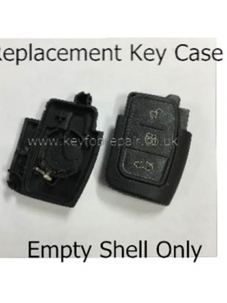 Ford Flip Key 3 Button Case Only- Focus Mondeo Fiesta Etc