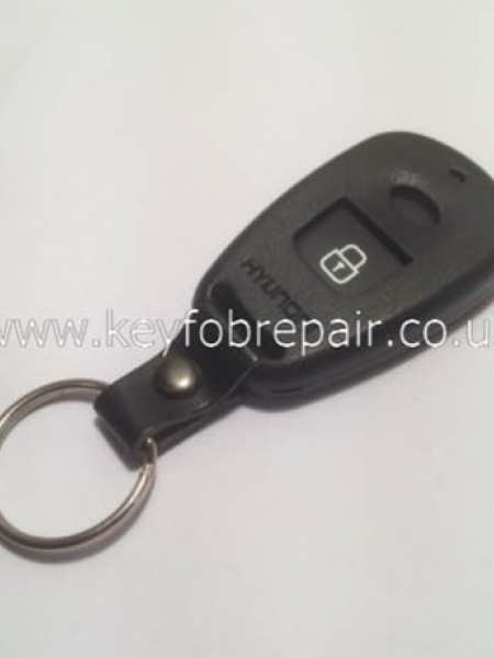 Hyundai 2 Button Empty Key Case Shell With Battery Place