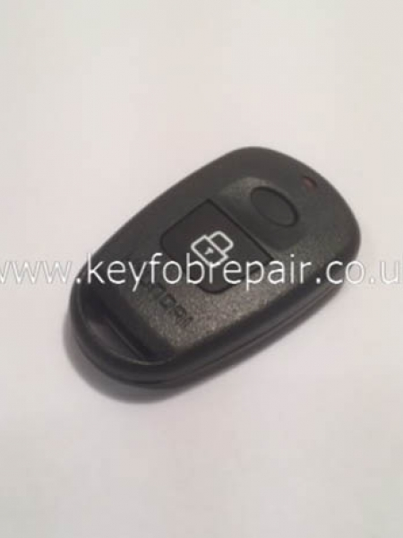Hyundai 2 Button Empty Key Case Shell Without Battery Place
