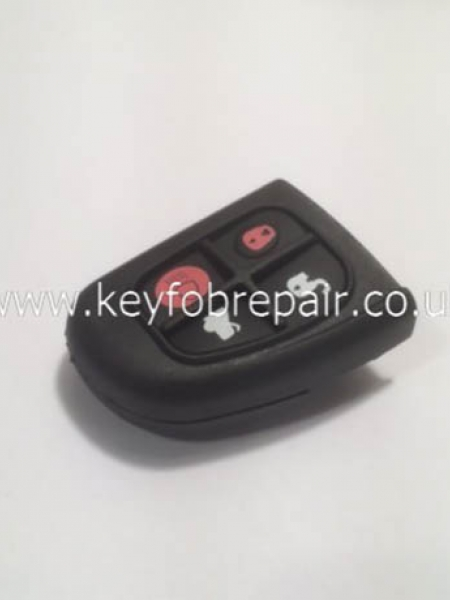 Jaguar X-Type S-Type Key Case Shell 4 Button