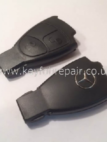 Mercedes 2 Button Key Case Shell B C E S Class CLK CLS SLK Etc