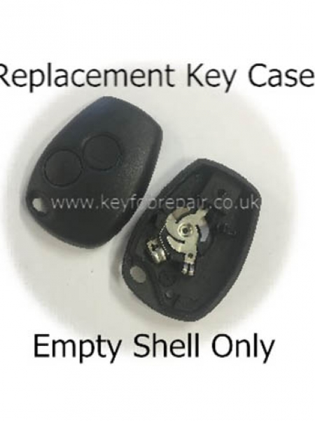 Renault 2 Button Key Case