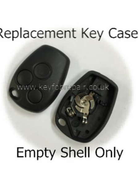Renault 3 Button Key Case