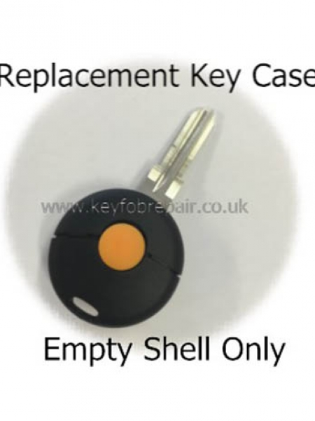 Smart Single Button Key Case Shell Fortwo K Roadster City Coupe Cabrio Forfour Crossblade