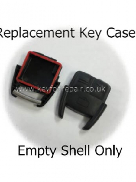 Vauxhall 3 Button Empty Key Case Shell