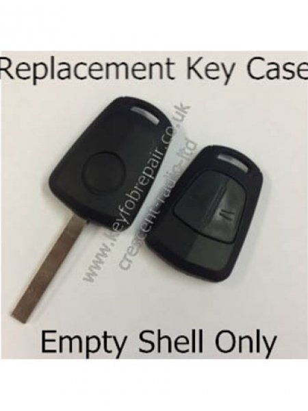 Vauxhall 2 Button Key Case And Blank HU100 Astra Corsa Etc