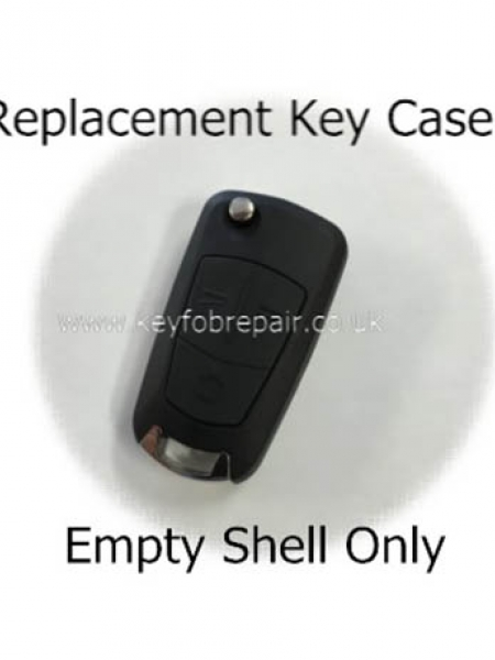 Vauxhall Flip 3 Button Key Case