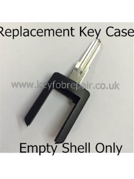 Vauxhall HU46 (Left Hand) Key Blade Case For 2 Button Remotes - Corsa Meriva Combo