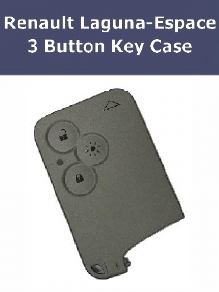 Key Fob Case For Renault 3 Button Laguna Espace