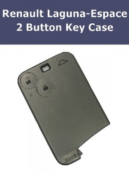 Key Fob Case For Renault Laguna Espace 2 Button