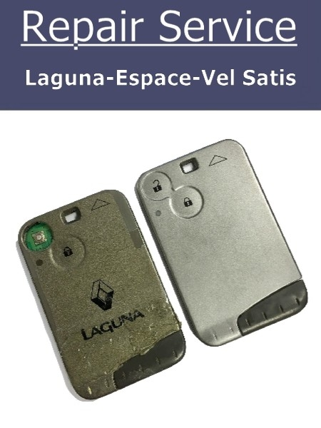 Renault Laguna Espace With New Case Key Fob Repair Service