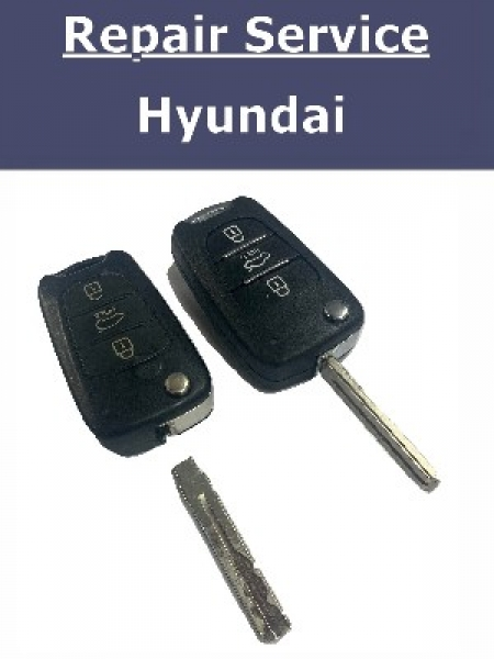 Key Repair Service - Hyundai i20 i30