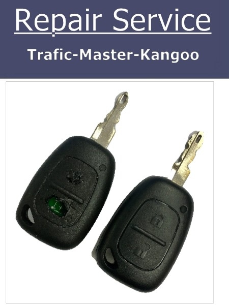 Key Fob Repair Service for Renault Trafic Master Kangoo