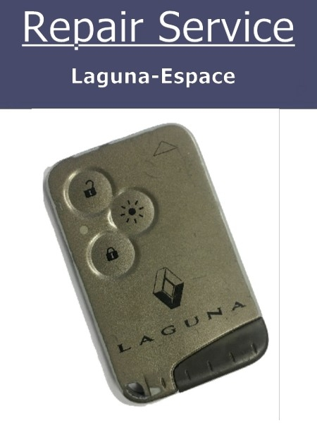 Key Fob Repair Service - Renault Laguna Espace 3 Button